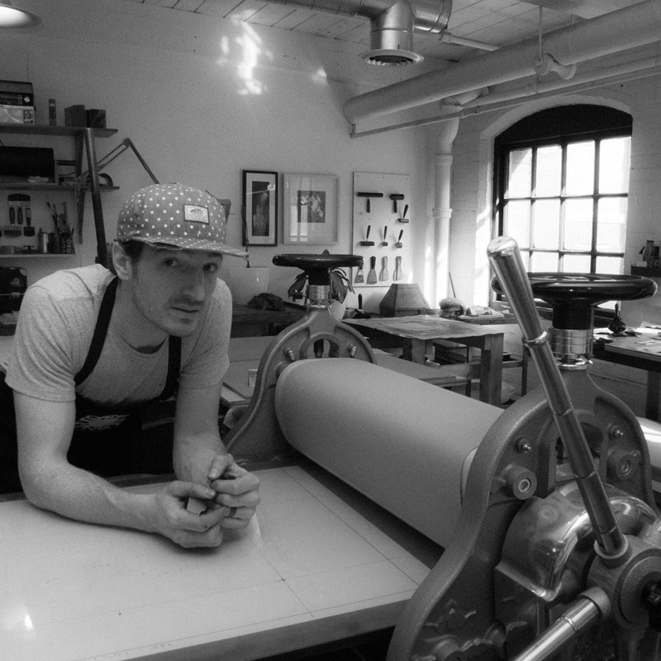 Smokestack Founder Laine Groeneweg - Gentile Etching Press